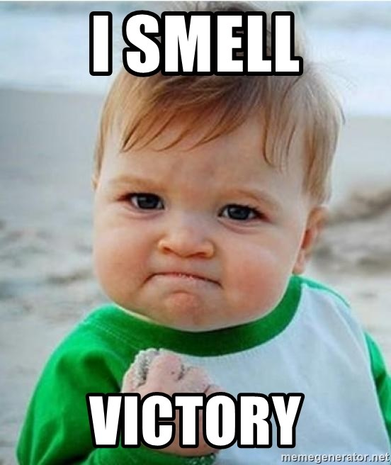 victory kid - i smell victory