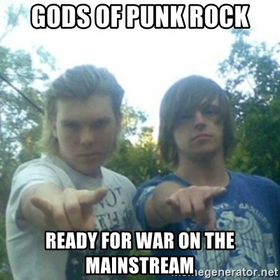 god of punk rock - gods of punk rock ready for war on the mainstream