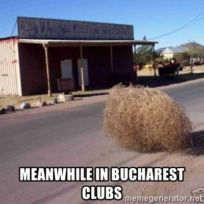Tumbleweed - Meanwhile in Bucharest clubs