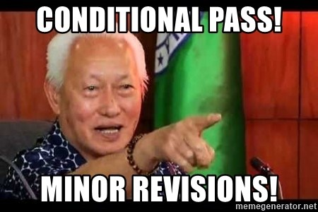 Mayor Lim Meme - Conditional Pass! Minor Revisions!