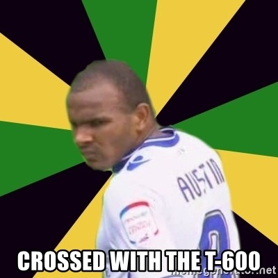 Rodolph Austin - Crossed with the t-600