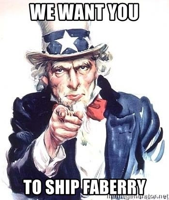 Uncle Sam - WE Want you to ship faberry