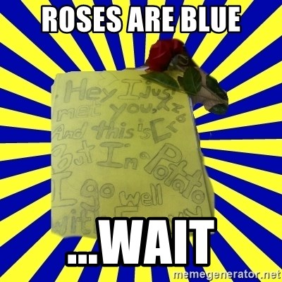 Livy - roses are blue ...wait