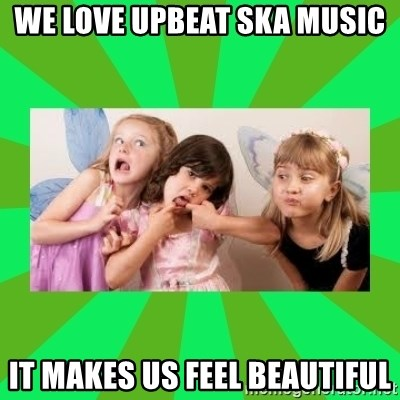 CARO EMERALD, WALDECK AND MISS 600 - WE LOVE UPBEAT SKA MUSIC IT MAKES US FEEL BEAUTIFUL