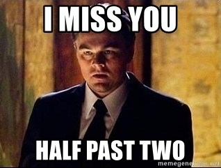 inception - i miss you half past two
