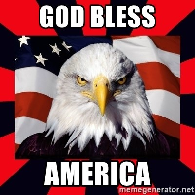 Bald Eagle - God Bless AMerica