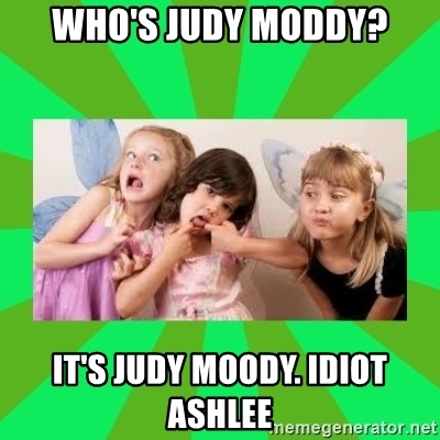 CARO EMERALD, WALDECK AND MISS 600 - who's judy moddy? it's judy moody. idiot ashlee