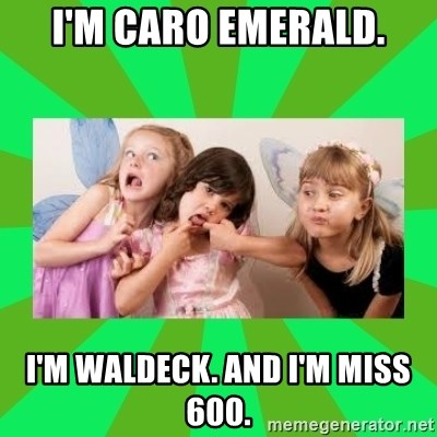 CARO EMERALD, WALDECK AND MISS 600 - i'm caro emerald. i'm waldeck. and i'm miss 600.