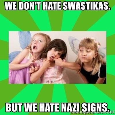 CARO EMERALD, WALDECK AND MISS 600 - WE DON'T HATE SWASTIKAS. BUT WE HATE NAZI SIGNS.