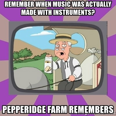 Pepperidge Farm Remembers FG - Remember when music was actually made with instruments? Pepperidge Farm remembers