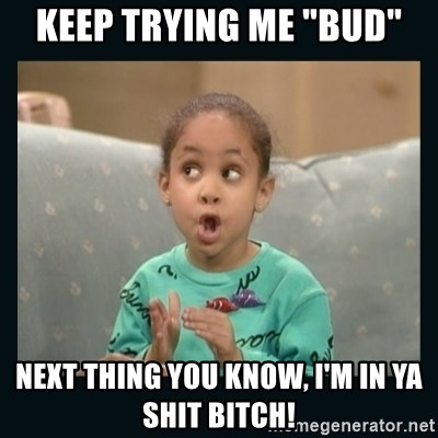 "Raven Symone - KEEP TRYING ME ""BUD"" NEXT THING YOU KNOW, I'M IN YA SHIT BITCH!"