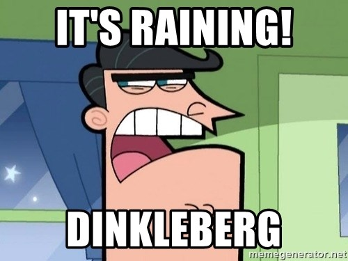 Umbridge - it's raining! dinkleberg