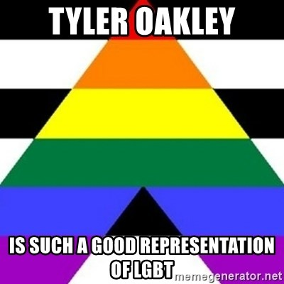 Bad Straight Ally - Tyler Oakley Is such a good representation of LGBT