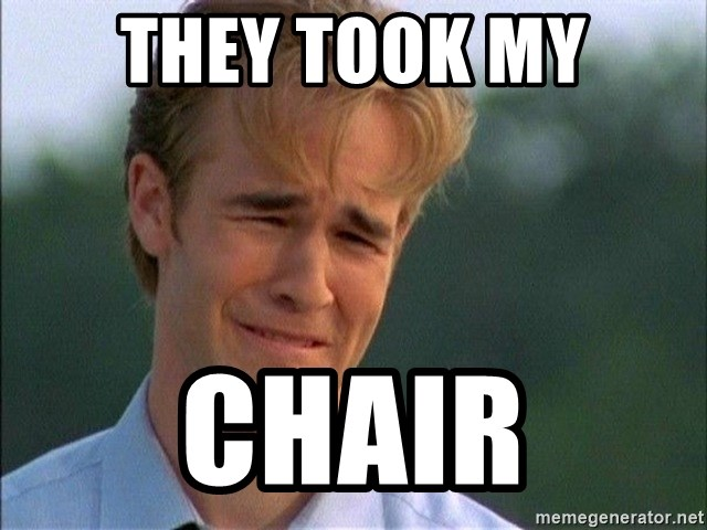 Dawson Crying - They took my chair
