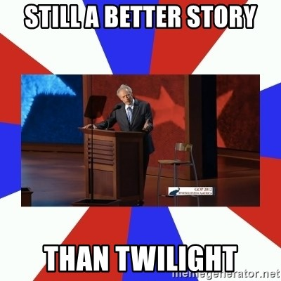 Invisible Obama - Still a better story Than Twilight
