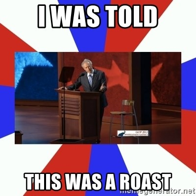 Invisible Obama - I was told THis was a roast