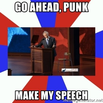 Invisible Obama - Go ahead, Punk make my speech