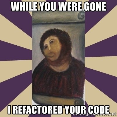 Retouched Ecce Homo - While you were gone I refactored your code