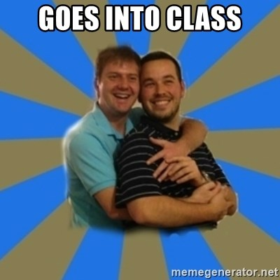 Stanimal - GOES INTO CLASS