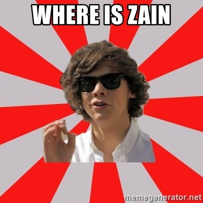 One Does Not Simply Harry S. - WHERE IS ZAIN