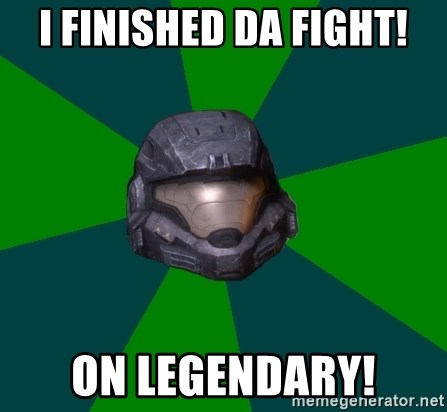 Halo Reach - I FINISHED DA FIGHT! ON LEGENDARY!
