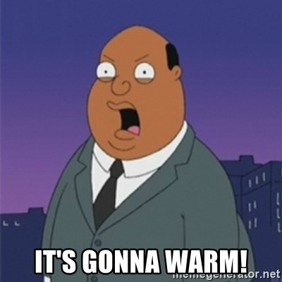 ollie williams - IT'S GONNA WARM!