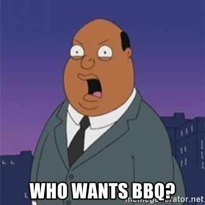 ollie williams - WHO wants bbq?
