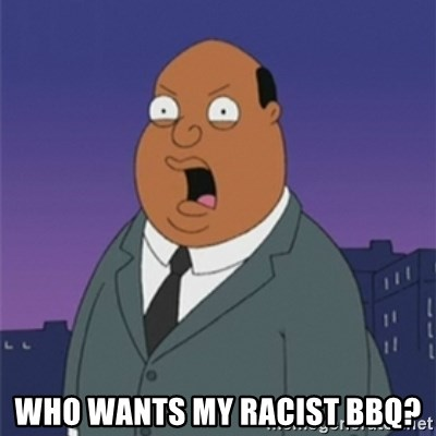 ollie williams - who wants my racist bbq?