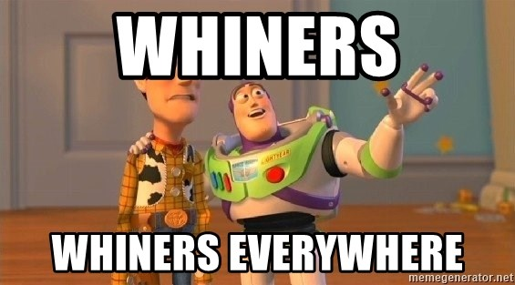 Consequences Toy Story - Whiners Whiners everywhere