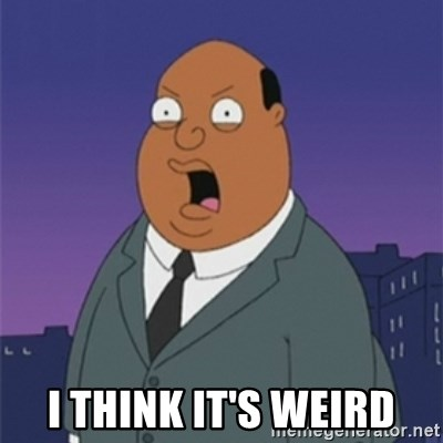 ollie williams - I think it's weird