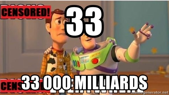 Toy Story Everywhere - 33 33 000 milliards