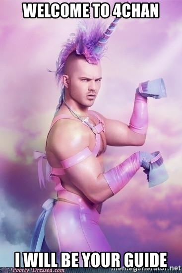 Unicorn Boy - Welcome to 4chan I will be your guide