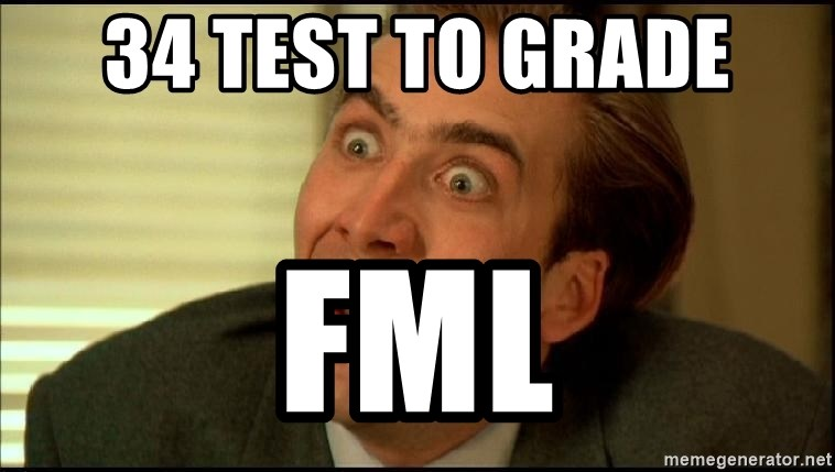 You Don't Say Nicholas Cage - 34 test to grade FML