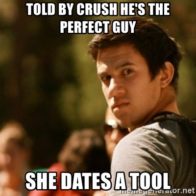 Disturbed David - TOLD BY CRUSH HE'S THE PERFECT GUY SHE DATES A TOOL