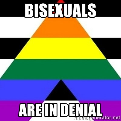 Bad Straight Ally - bisexuals are in denial