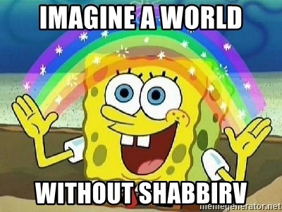 Imagination - Imagine A World Without Shabbirv
