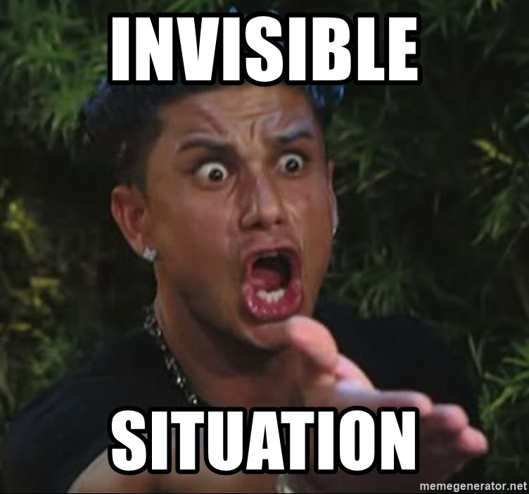 Pauly D - invisible situation