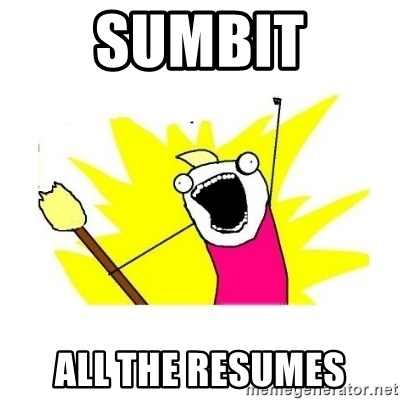 clean all the things blank template - SUMBIT ALL THE RESUMES