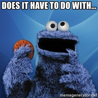 Cookie Monster Desktop - does it have to do with...