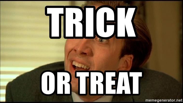You Don't Say Nicholas Cage - TRICK OR TREAT