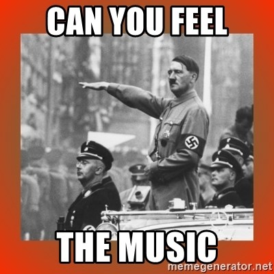 Heil Hitler - CAn you feel The Music