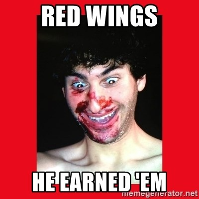 MarcusAndronicus - red wings HE EARNED 'EM