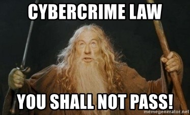 Gandalf - cybercrime law you shall not pass!