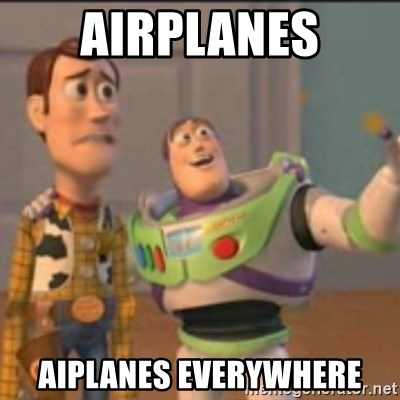 Buzz - airplanes aiplanes everywhere