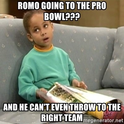 Olivia Cosby Show - Romo going to the pro bowl??? and he can't even throw to the right team
