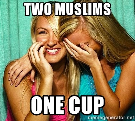 Laughing Whores - two muslims one cup