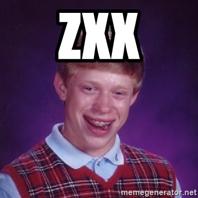 Bad Luck Brian - zxx