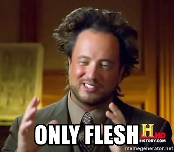 Ancient Aliens - only flesh