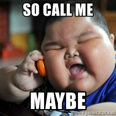 fat chinese kid - So call me maybe