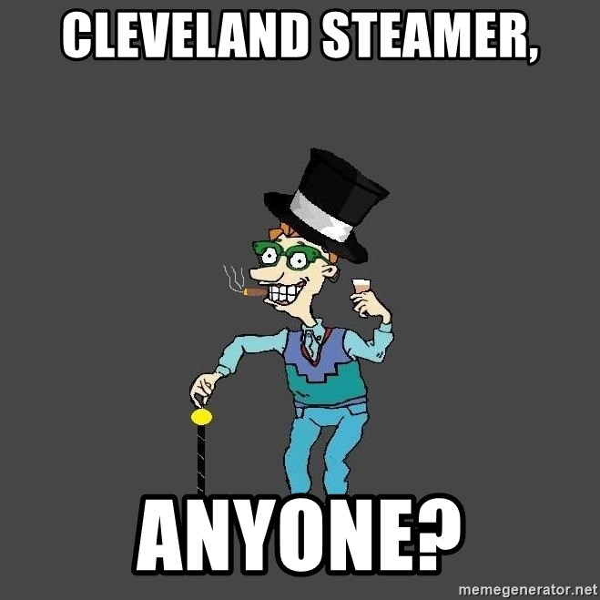 Drew Pickles: The Gayest Man In The World - Cleveland steamer, anyone?
